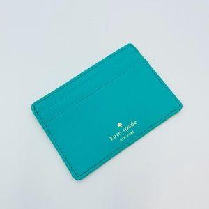 KATE SPADE ♠️ BLUE TEAL CARD HOLDER